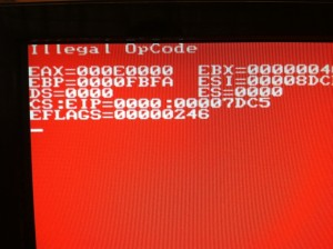 DL360 Red Screen of Death